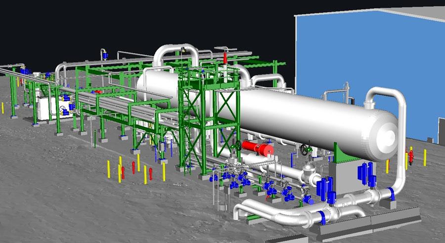 Allegheny Surveys 3D CAD Modeling